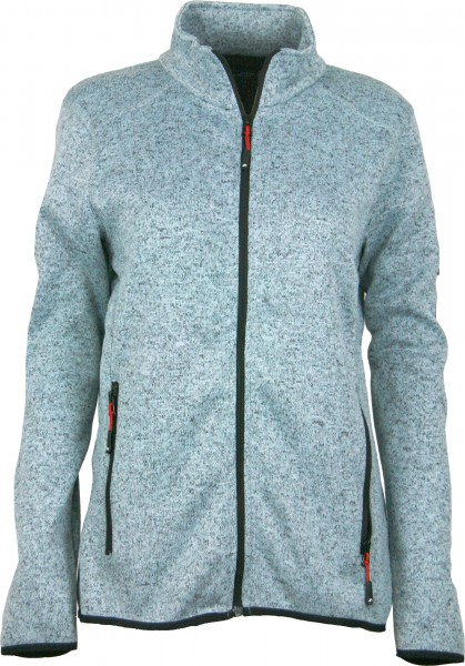 Damen Strickfleece Jacke VAASA