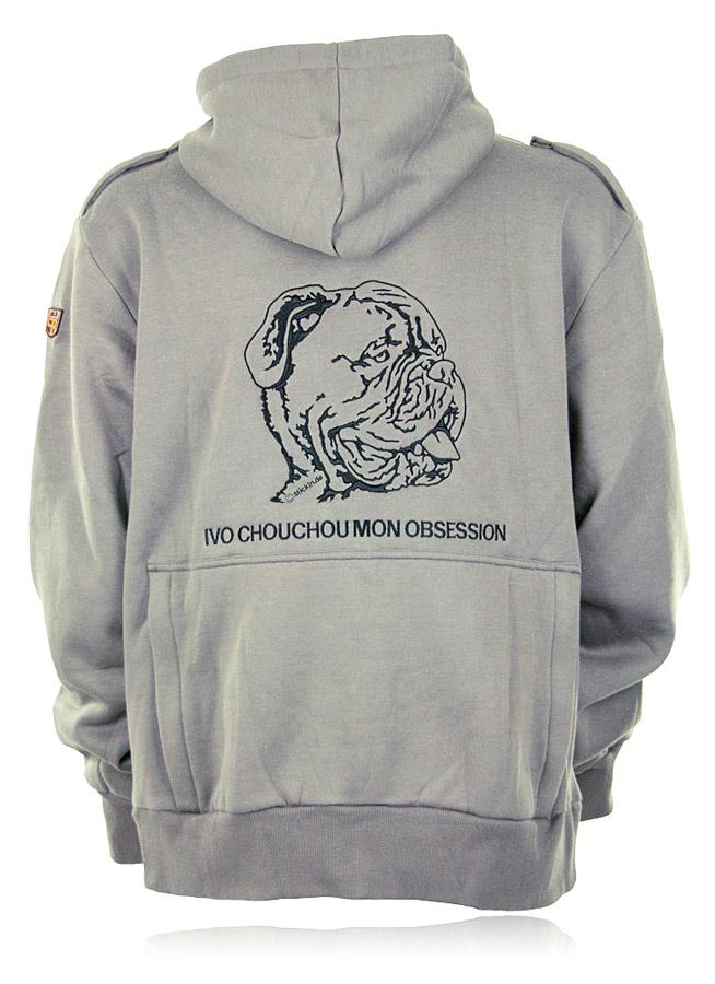 Hundesport Bekleidung Sweatshirt Jacke FYN von GoodBoy besticken Stickerei Sweatshirt Jacke mit Kapuze besticken lassen Hundesport Sweatshirtjacke mit Rückentasche besticken lassen