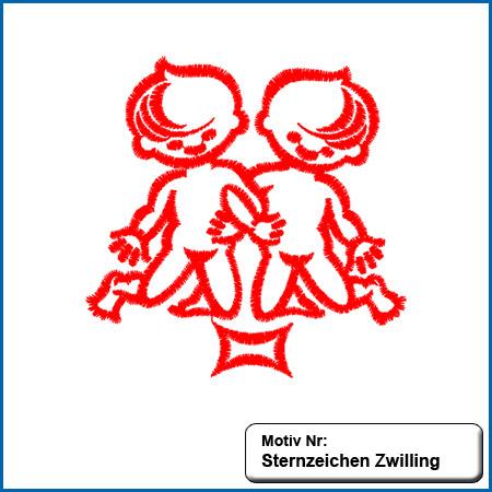 Sternzeichen Zwilling sticken Handtücher mit Namen, handtuch mit namen, handtücher, name, namen, besticken, individuell, Sternzeichen Zwilling bestickt