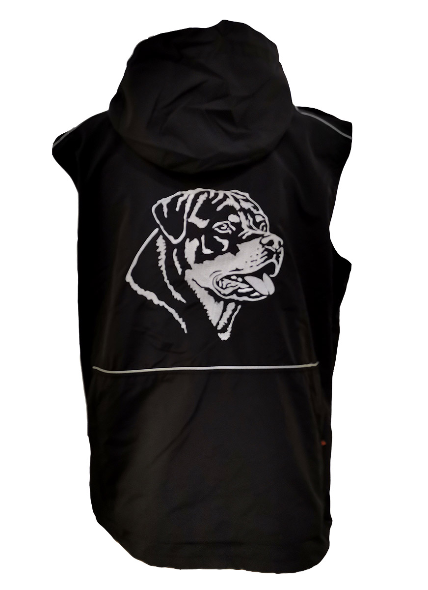 Hundesport Weste Hundesportweste sticken Hundesport Weste Goodboy sticken Weste Goodboy Rocky besticken Hundesportweste Stickerei Rottweiler Hundesport Bekleidung Weste Hundesport Weste mit Rückentasche