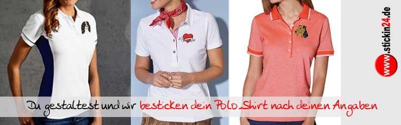 Damen_Hundesport_kleidung_Polo-Shirt_besticken_stickin24