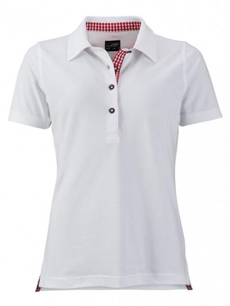 Damen Polo-Shirt RESI im Trachtenlook