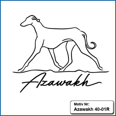 Azawakh Motiv Azawakh Hunde Motiv sticken Weste besticken mit AzawakhStickin