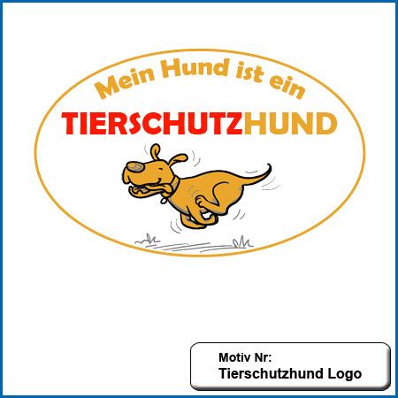 Hunde MotivTierschutzhund Stickerei Tierschutz Hund Logo sticken Hundesport Kleidung mit Tierschutz Hund Motiv besticken