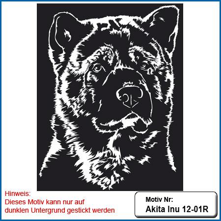 Akita Inu Akita Inu Hunde Motiv Akita Akita Inu sticken Akita Inu Hundemotiv