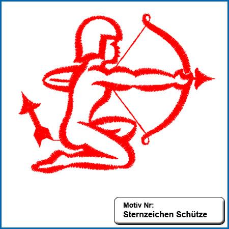 Sternzeichen Schütze sticken Handtücher mit Namen, handtuch mit Namen, handtücher, name, namen, besticken, individuell, Sternzeichen Schuetze bestickt