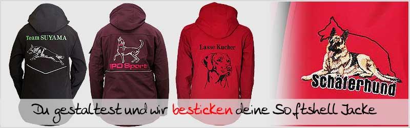 Damen_Hundesport_kleidung_Softshelljacken_besticken_stickin24-de