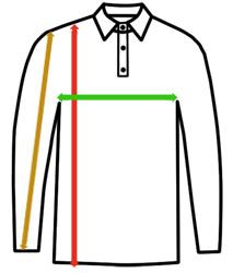 Polo-Shirt-Langarm