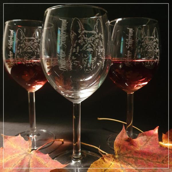 """Weißwein Glas """"SCHÄFERUND"""""""