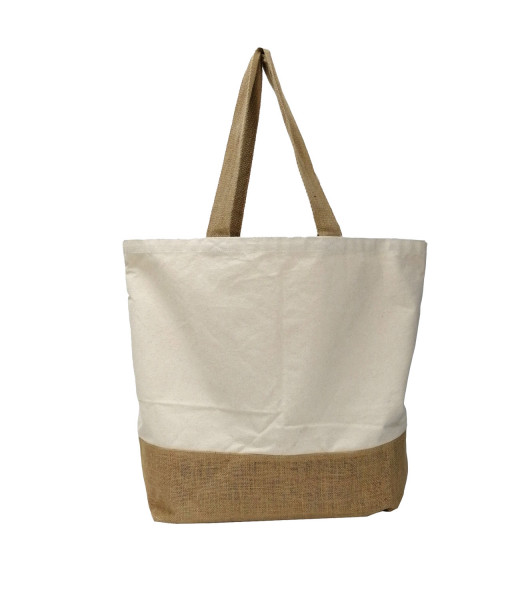 Jute-Baumwoll Shopper JOLLY