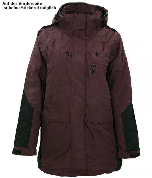 Goodboy Damen 3 in 1 Jacke JACKY (braun)