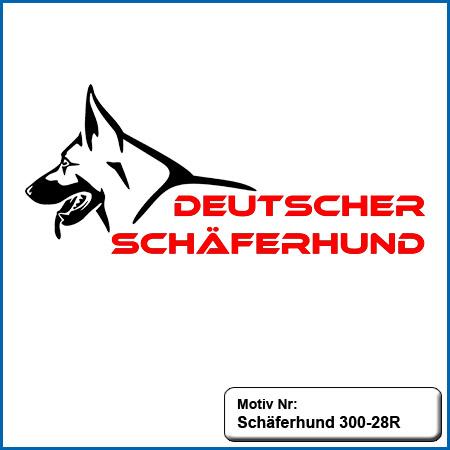 Hunde Motiv Schaeferhund Deutscher Schäferhund sticken gestickt Stickerei DSH Schäferhund Outline German Shepherd sticken