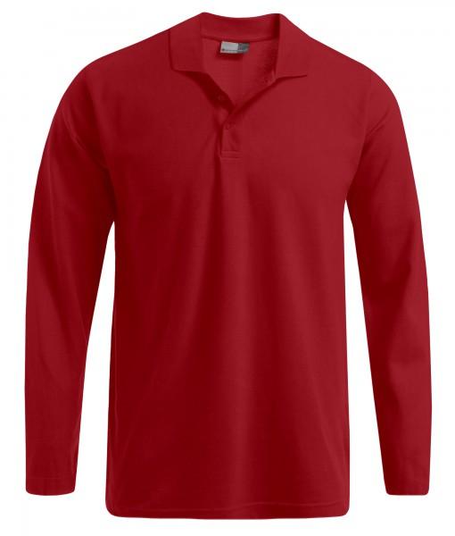 Langarm Polo-Shirt SULA