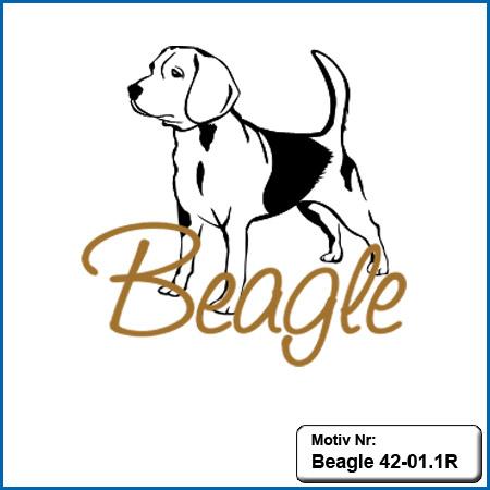 Beagle Motiv Hunde Motiv Beagle sticken Weste besticken mit Beagle Stickin Hundesport Bekleidung mit Beagle besticken