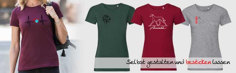 Damen_Hundesportkleidung_T-Shirt_besticken_stickin24